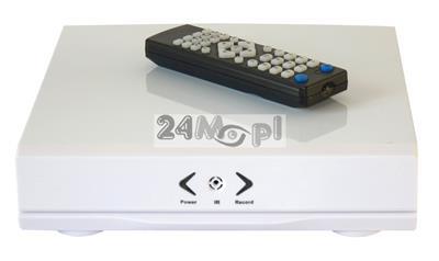Miniaturowy, 4 - kanałowy rejestrator hybrydowy do kamer AHD, IP i analogowych - idealny do monitoringu mobilnego pojazdów oraz monitoringu szpiegowskiego
