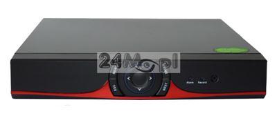 8 - kanałowy rejestrator do kamer AHD [w wersji 1.3 MPX - HD oraz 2.0 MPX - FULL HD], IP i analogowych, płynny ruch, polskie MENU, dostęp zdalny przez komputery, telefony i tablety