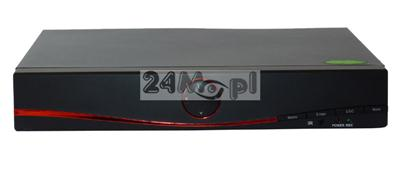 Rejestrator hybrydowy do kamer AHD, IP i analogowych - obsługa rozdzielczości HD, FULL HD i 3 MPX, kompatybilność ze standardem ONVIF, funkcja P2P [praca w chmurze]