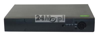 8 - kanałowy rejestrator hybrydowy - kompatybilność z kamerami AHD, IP i analogowymi - obsługa rozdzielczości do 5 MPX, polskie MENU, praca w chmurze [P2P]