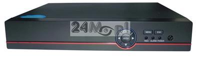 8 - kanałowy rejestrator hybrydowy [do kamer AHD, IP i analogowych] - obsługa rozdzielczości do 4 MPX [2688 x 1520], dostępny tryb REAL TIME [płynny ruch], pełny dostęp zdalny przez Internet i telefon