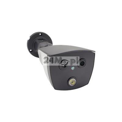 Profesjonalna kamera termowizyjna do pomiaru temperatury - polski soft, pełna funkcjonalność kamer IP, rozdzielczoś FULL HD, kompatybilna z BlackBody