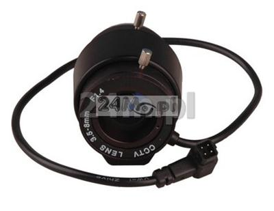 Obiektyw CS 3,5-8mm DC Auto Irys